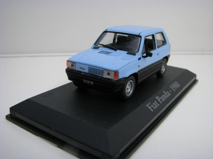 Fiat Panda 1980 blue 1:43 Atlas